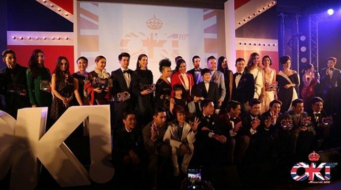 OK! Awards 2015 : From London To Bangkok