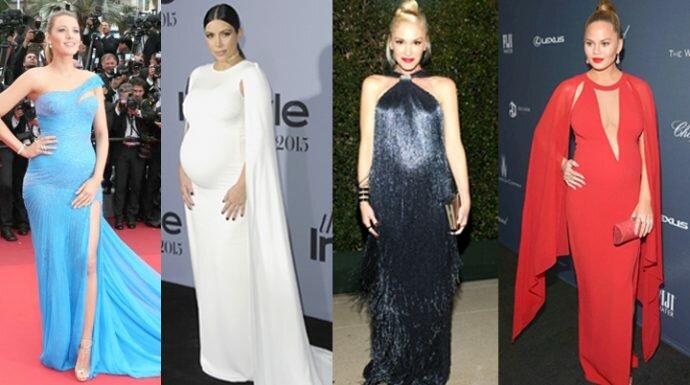 Top 10 Most Stylish Pregnant Celebrities : 10คุณแม่กับลุคสุดว้าวบนพรมแดง