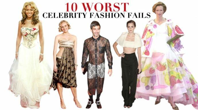 Worst Celebrity Fashion Fails : 10ชุดสุดแย่ของตัวแม่แฟชั่น!