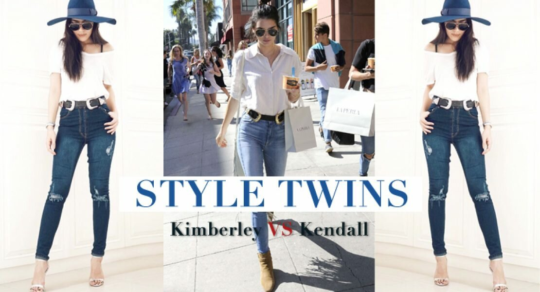 STYLE TWINS : คิมเบอร์ลี VS เคนดอลล์ #มีความบังเอิญเหมือน