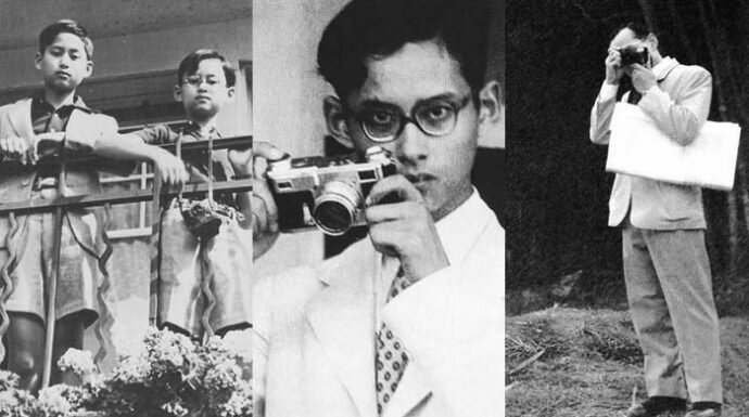 กล้องถ่ายภาพส่วนพระองค์กล้องแรกของในหลวง ร.9