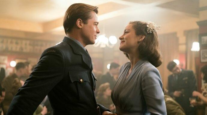 'แบรด พิตต์' กับความรู้สึกดีๆ ที่มีต่อ 'มาริยง กอติยาร์' นางเอกในจอจากหนัง Allied