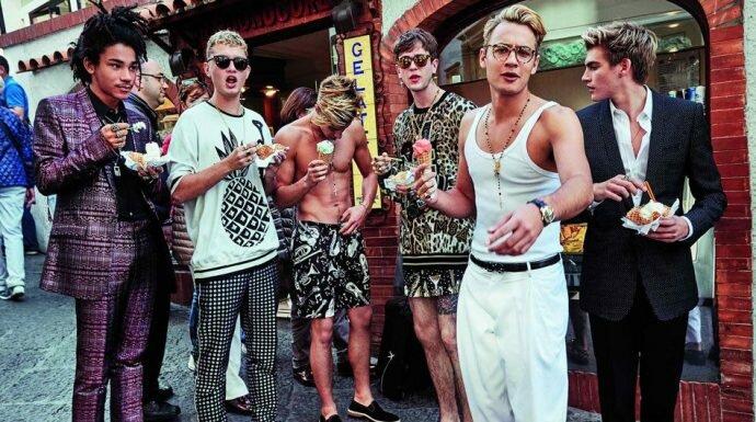 หล่อแรง! 4 หนุ่มฮอตทายาทฮอลลีวูด ในแคมเปญแฟชั่นล่าสุดของ Dolce & Gabbana