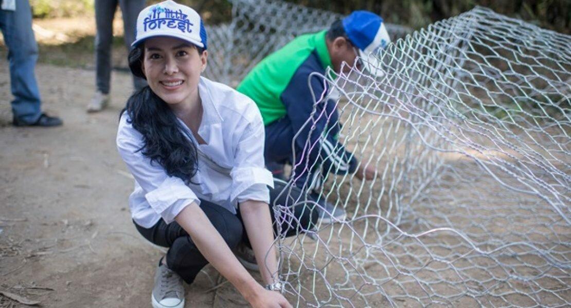 LITTLE FOREST, BIG HELP เชอรี่ เข็มอัปสร เฟดงานในวงการบันเทิงสู่การช่วยเหลือสังคม