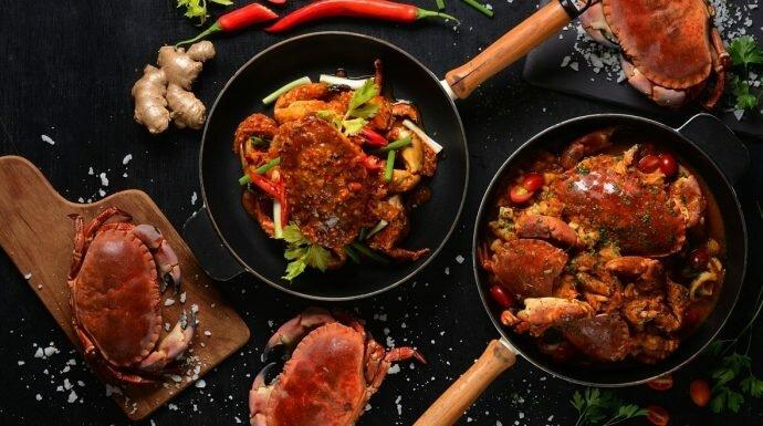 เห็นแล้วหิว! เทศกาลกินปู 'The Ultimate Crab Feast' โรงแรมเรเนซองส์ฯ