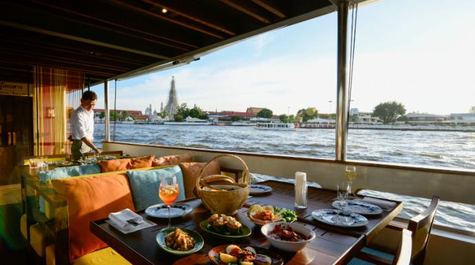 ชีวิตดี๊ดี กับ 'สุพรรณิการ์ ครูซ' ห้องอาหารเคลื่อนที่กลางแม่น้ำเจ้าพระยา