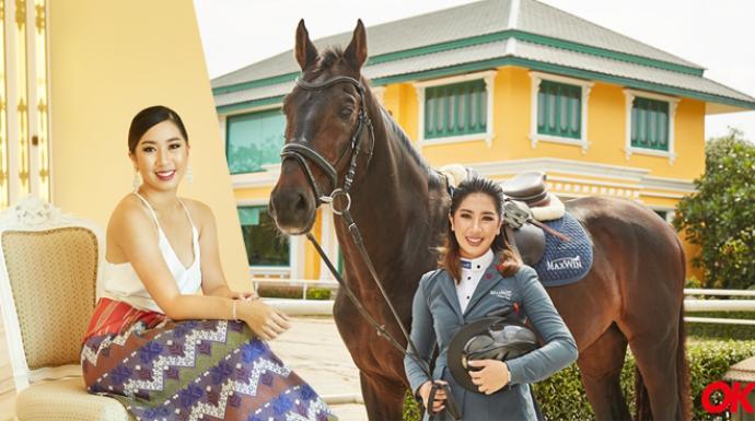 """""""ปรีดิ์อัญ-ชนกภรณ์ การุณยธัช"""" นักกีฬาขี่ม้าสาวหนึ่งเดียวในไทย กับการแข่งขันระดับโลก !!"""