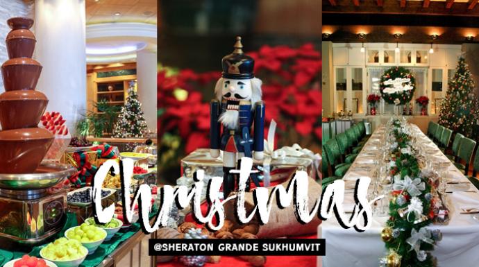ล็อกพิกัดบรรยากาศอบอุ่น! ฉลองเทศกาลคริสต์มาสและปีใหม่นี้ ที่โรงแรมเชอราตัน