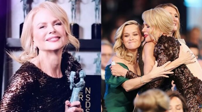 นิโคล คิดแมน กับสปีชดีๆ บนเวที ขอแรงสนับสนุนนักแสดงหญิงจากวงการฮอลลีวูด