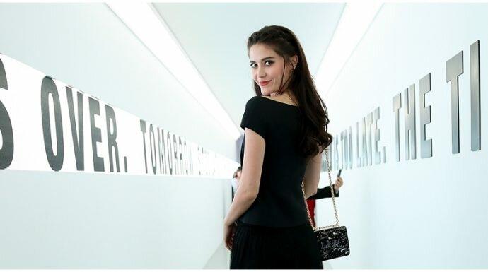 มารีญา ตัวแทนสาวไทยอวดความสวยใส ในงาน Dior Capture Youth ที่ประเทศจีน
