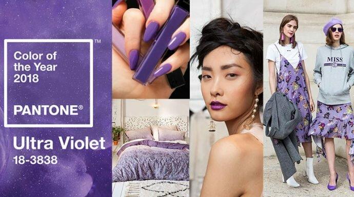 ส่องเทรนด์สีมาแรงแห่งปี 'Ultra Violet' Color of The Year 2018 ทำอะไรได้บ้าง