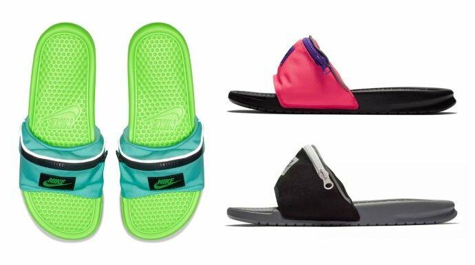 Nike Benassi JDI 'Fanny Pack' รองเท้าแตะแสนเก๋ที่มาพร้อมกับฟังก์ชั่นสุดล้ำ