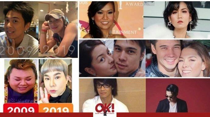 ตามดู #10YEARCHALLENGE ของ 30 คนดังฝั่งไทยพูดได้เลยว่า พีคในพีค!