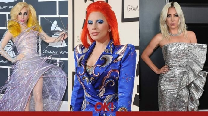 จากสุดโต่งสู่เรียบหรู ย้อนดูลุคของเลดี้ กาก้า ในรอบ 10 ปีที่งาน Grammy Awards