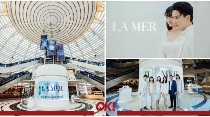 เปิดประสบการณ์สุดประทับใจกับ Crème de la Mer Installation ที่ใหญ่ที่สุดในโลกที่ คิง เพาเวอร์ รางน้ำ