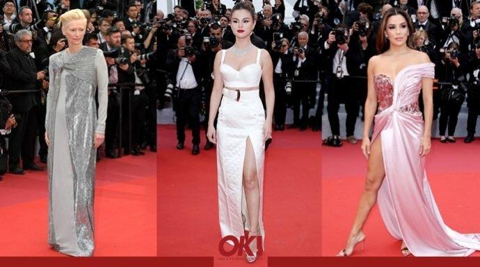 7 ลุคสุดชิคของเหล่าเซเลบริตี้บนพรมแดง Cannes 2019