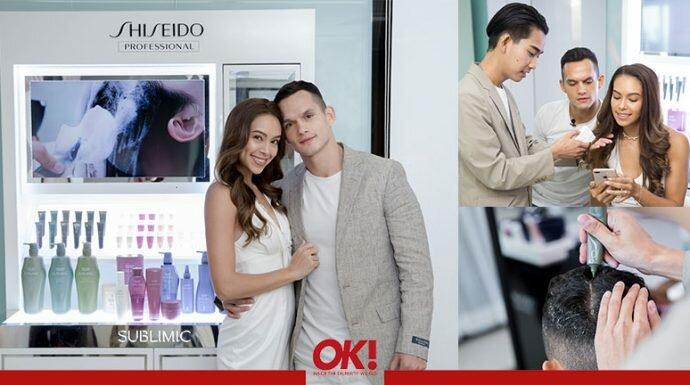 """เคล็ดลับผมสุขภาพดีของ """"เทย่า-มิก้า"""" กับทรีตเมนต์จาก Shiseido Professional"""