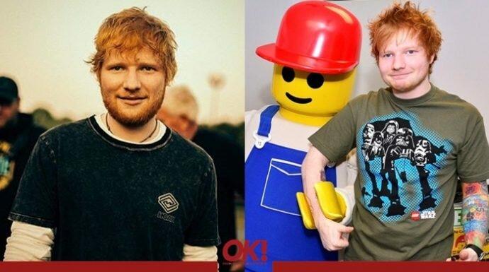 เลโก้ที่รัก! เอ็ด ชีแรน ป๊อปสตาร์พันล้านวิวกับความรักไม่สิ้นสุดที่เขามีให้ตัวต่อเลโก้