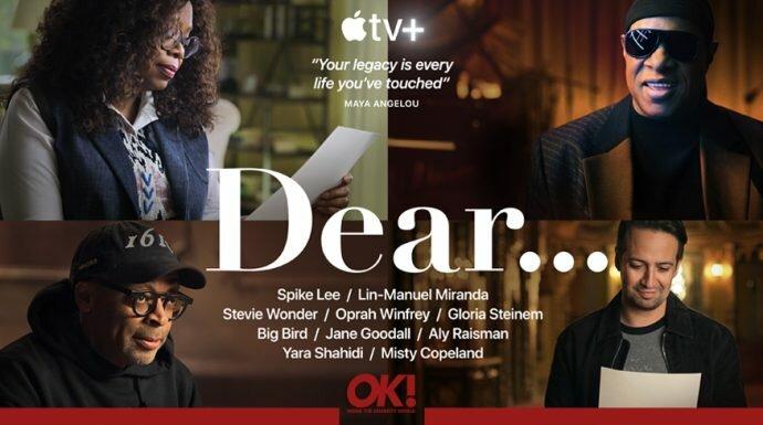 """""""Dear…"""" ซีรีส์สารคดีสร้างแรงบันดาลใจจาก 10 คนดัง เตรียมลงจอ Apple TV+ 5 มิ.ย.นี้"""