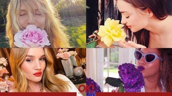 เห็นแล้วสดชื่น! 15 สาวคนดังแชะภาพกับดอกไม้สวยๆ ทั้งผ่อนคลายและฟีลกู๊ด